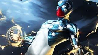 cosmic spiderman vs the flash