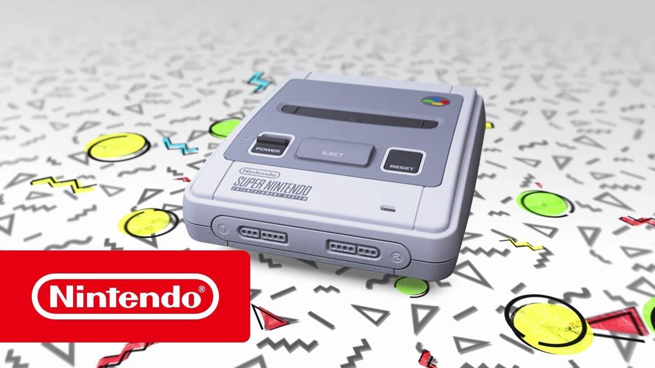 nintendo classic mini super nintendo entertainment system mini