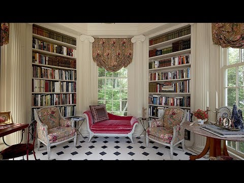 At Home with Robert Couturier Part Deux - The Library!