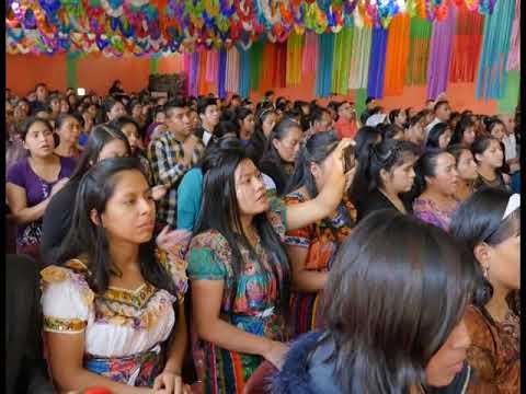Carmen Sajbin. Iglesia La Voz del Espiritu Santo