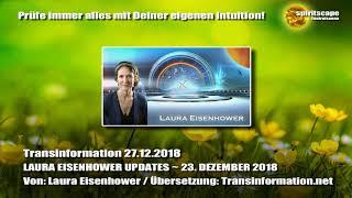 LAURA EISENHOWER UPDATES ~ 23. DEZEMBER 2018 - Transinformation