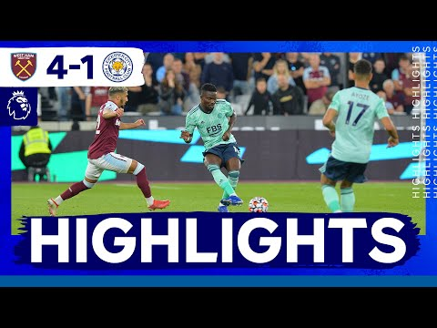 Download 10-Man Foxes Beaten At London Stadium | West Ham United 4 Leicester City 1
