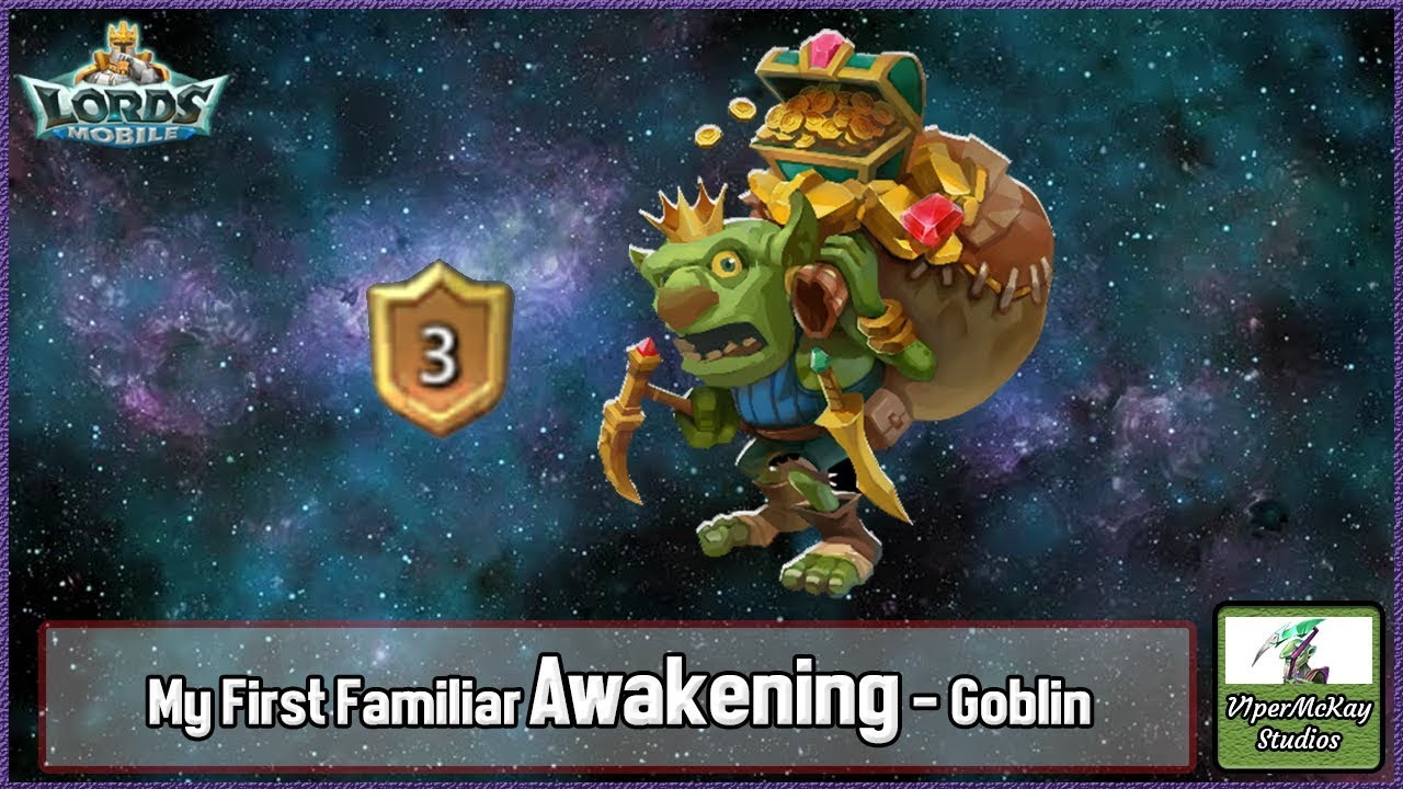 My First Familiar Awakening - Goblin