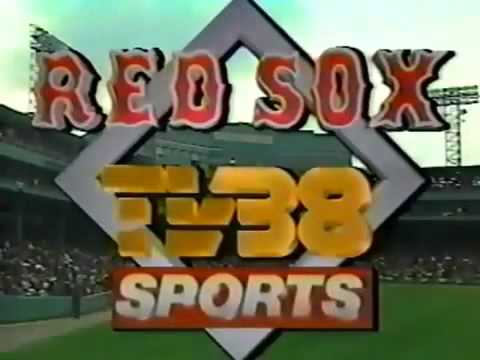 Sox 38 Sports TV WSBK Vintage Boston Broadcast 2014 Red 1989