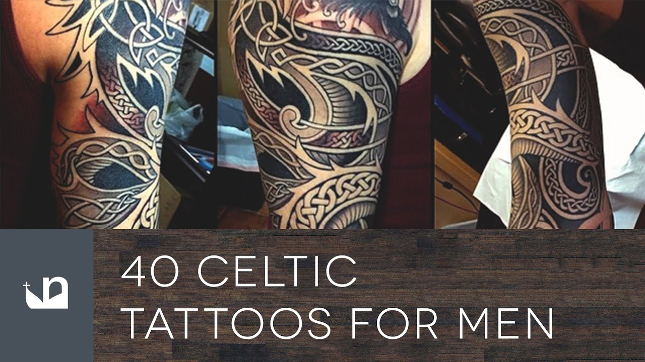 40 Celtic Sleeve Tattoo Designs For Men – Manly Ink Ideas advise