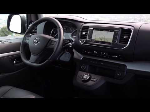 The new Opel Zafira Life Interior Design