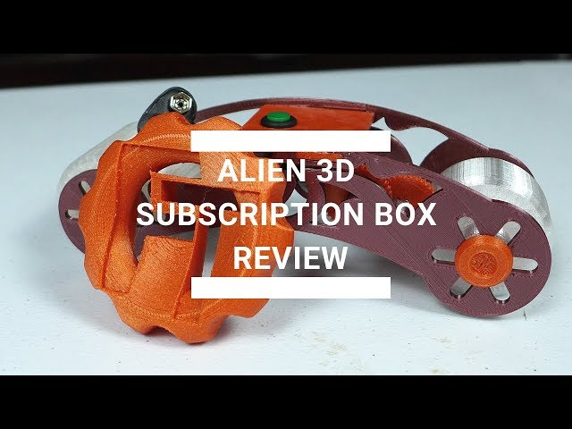 Alien 3D Subscription Box Review