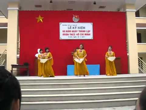 110326 Múa nón - THPT Lý Thái Tổ