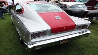 RARE 1965 Rambler MARLIN, silver & red (Fallbrook car show)