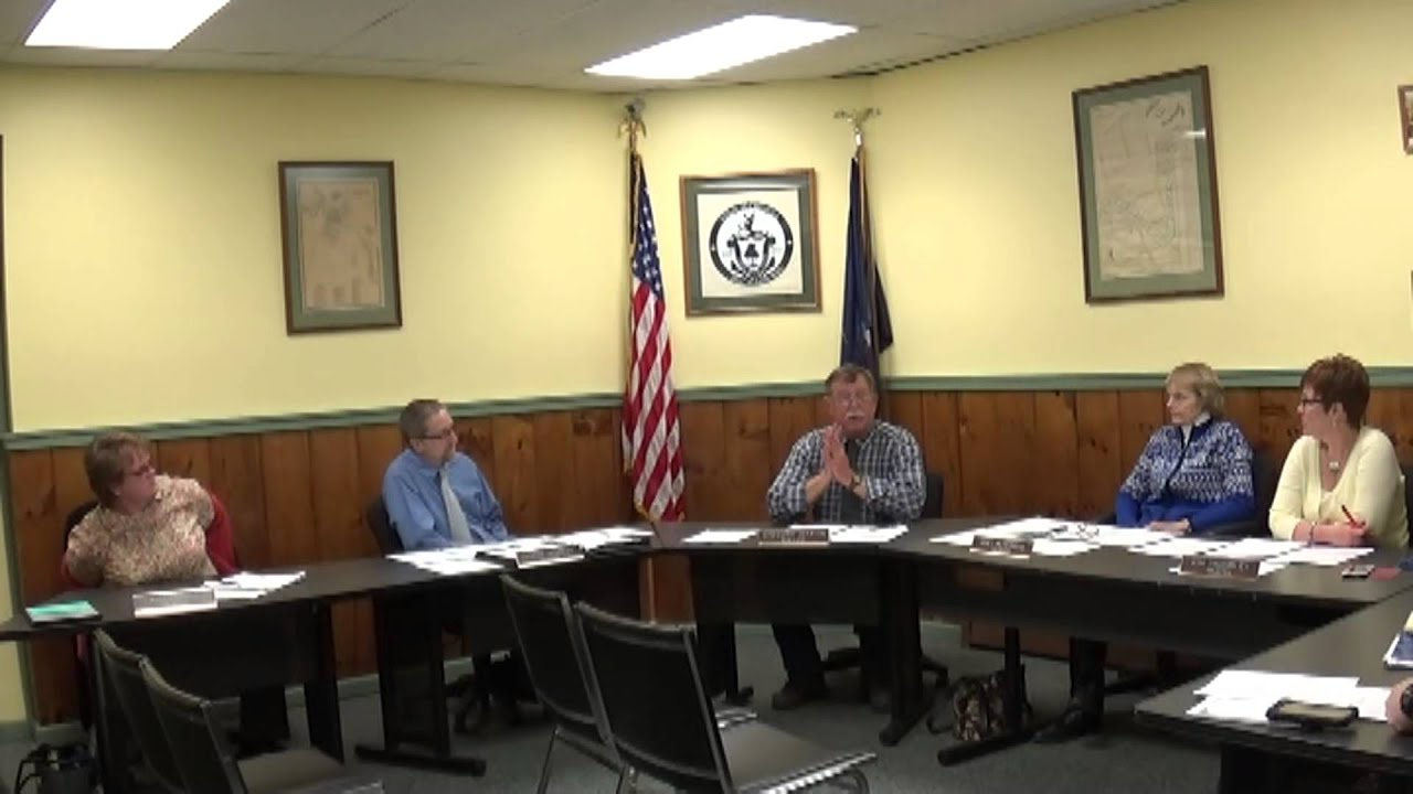 Champlain Village Board Meeting  1-11-16