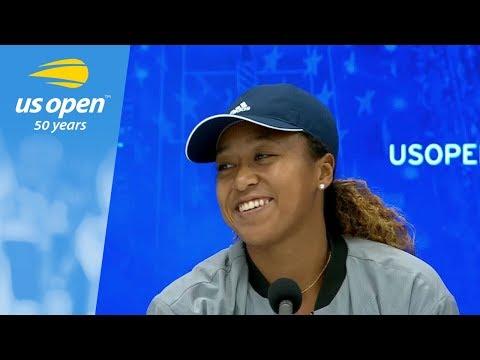 2018 US Open Press Conference: Naomi Osaka