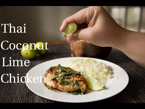 Thai Coconut Lime Chicken Recipe