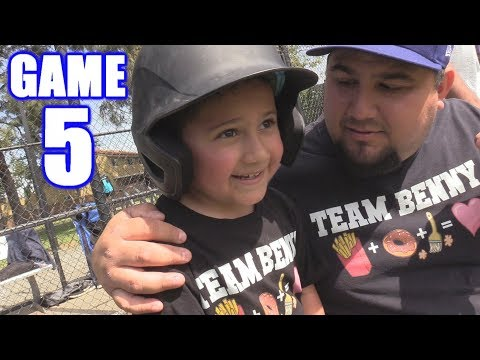 LUMPY'S GETTING BIG! | On-Season Softball Series | Game 5