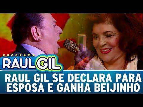 Raul Gil Se Declara Para Esposa, Ganha Beijão E Emociona Plateia | Programa Raul Gil (24/06/17)