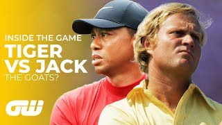 Download Tiger Woods VS Jack Nicklaus: Who Is The Greatest? | Inside The Game | Golfing World Mp3 and Videos