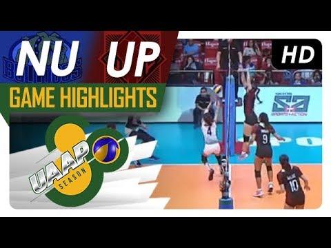 UAAP 80 WV: NU vs. UP | Game Highlights | April 4, 2018