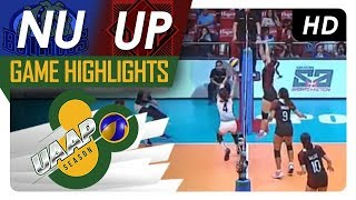 UAAP 80 WV: NU vs. UP | Game Highlights | April 4, 2018