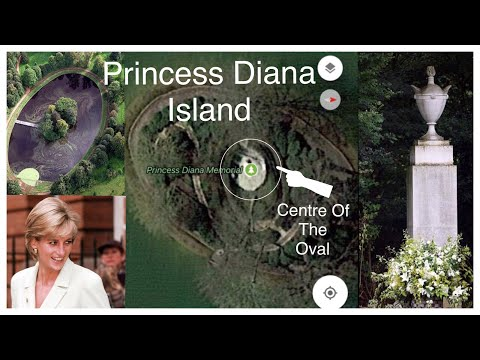 PRINCESS DIANA See What's At Centre Of Island