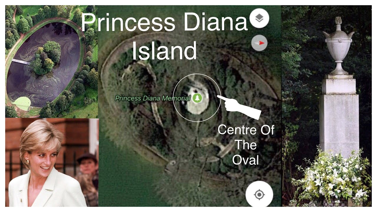 Princess Diana See What S At Centre Of Island Youtube