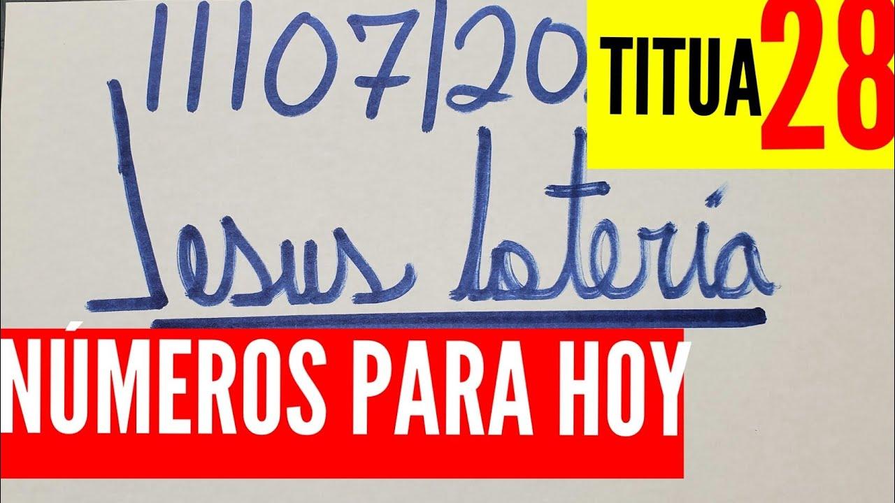 NUMEROS PARA HOY 11/07/2020 DE JULIO PARA TODAS LAS LOTERÍAS