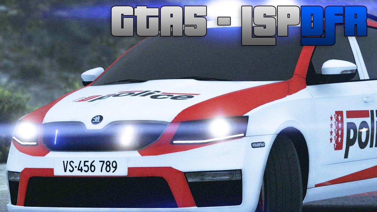 GTA 5 LSPDFR #18 - POLICE VS - Course poursuite !