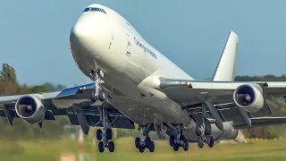 30 MINUTES PURE AVIATION - 40 BIG PLANE Departures and Landings - Boeing 747, Airbus A380 ... (4K)