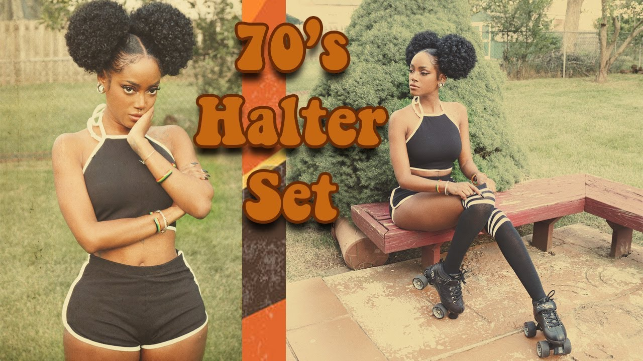 70's Edition: DIY Halter And Dolphin Shorts Set / Roller