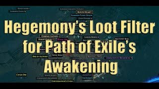 Hege's Loot Filter for Path of Exile (Always Updated to most recent Patch)
