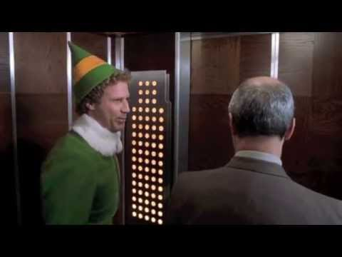 Elf 7 10 Best Movie Quote Elevator Buttons Look Like A Christmas