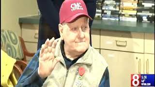 Newington Veteran Receives International Honor