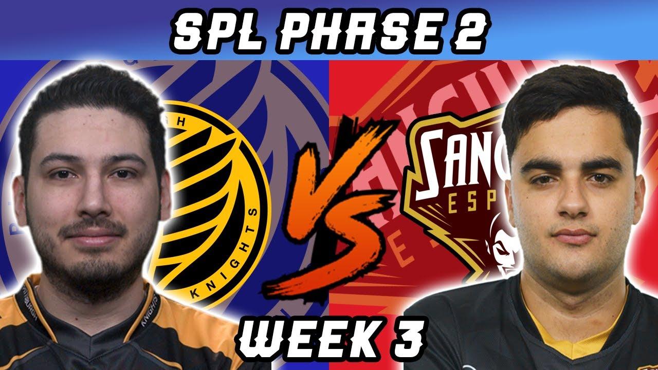 Sanguine vs Pittsburgh Knights| Highlights SPL 2020 Season 7 Phase 2 | Week 3