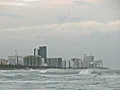 Hurricane Sandy, South Beach Surfers