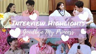 -东宫-Interview Highlights Goodbye My Princes 忘川夫妇高甜访谈合辑-陈星旭 彭小苒-Xingxu Chen - Xiaoran Peng-ENG SUB-
