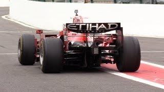 Ferrari F1 F2008 - BRUTAL V8 Engine SOUNDS!