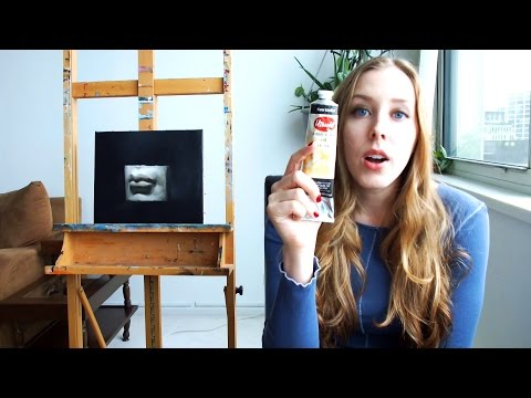 Grisaille Painting | Mouth Cast