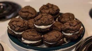Homemade Cream Filled Chocolate Cookies (a Twisted Recipe)