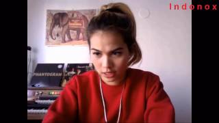 Hayley Kiyoko - Full Live Ustream - 12th March 2014 - Twitter 200k celebration
