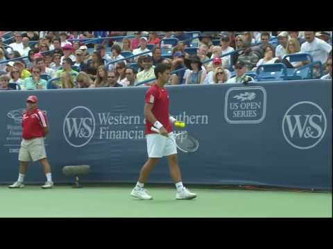 Roger Federer vs Novak Djokovic FULL MATCH HD Cincinnati 2009 FINAL