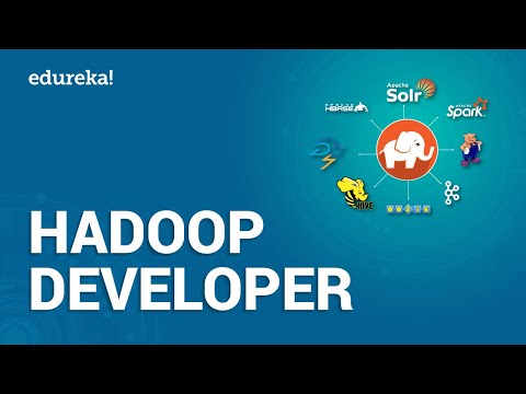 Who Is A Hadoop Developer? | How To Become Big Data Hadoop Developer? | Hadoop Training | Edureka
