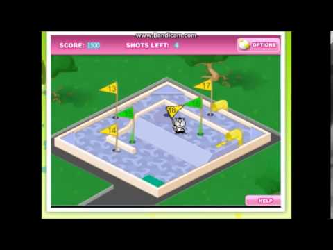 MOST HARDCORE GAME OF ALL TIME?!?!:Pixel Chix Mini Golf