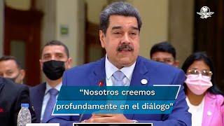 El Presidente de Venezuela, Nicolás Maduro propuso que se lleve a cabo un debate sobre democracia, luego de que su gobierno recibió críticas por parte de los mandatarios de Paraguay, Mario Benítez y de Uruguay, Luis Lacalle