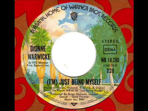 DIONNE WARWICKE  (I'm) Just being myself