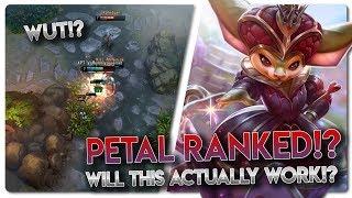 PETAL IN RANKED WUT!? Vainglory 5v5 [Ranked] Gameplay - Petal |CP| Top Lane Gameplay
