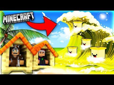 Minecraft SÓNG THẦN BANANA | Thử Thách Sinh Tồn
