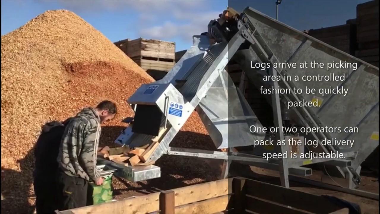 Eazi Pak - Firewood Bagging Machine