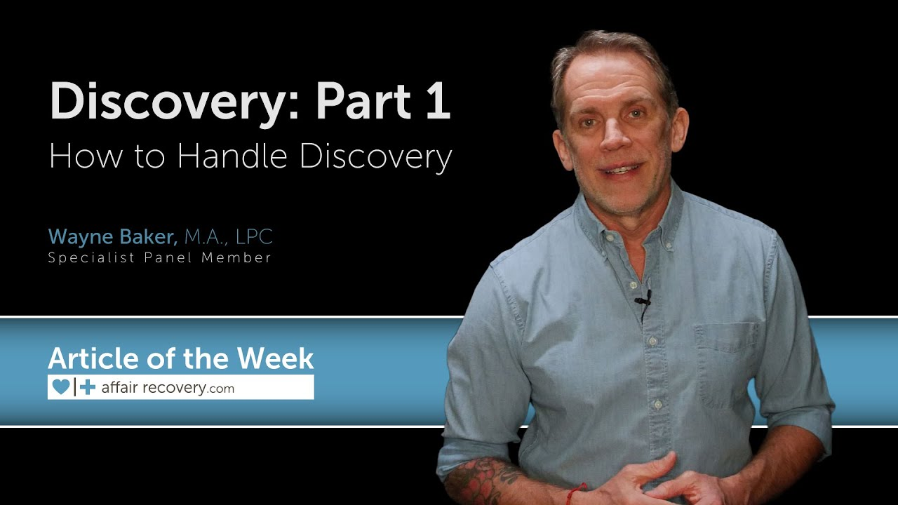 Discovery: Part 1 - How to Handle Discovery