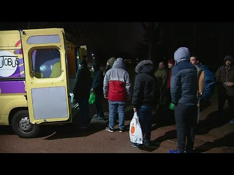 Operation Sakado en Seine-Maritime auprès des sans-abris