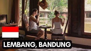 The BEAUTY of Lembang, Northern Bandung | Imah Seniman + Floating market | #Vlog 112