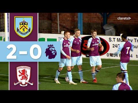 HIGHLIGHTS   Burnley U23s v Middlesbrough U23s   Premier League 2