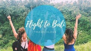 Flight to Bali / volunteer Work in Bali / Travelvlog